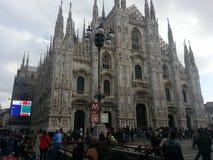 Milano. Duomo milano fashion style architecture Stock Photos