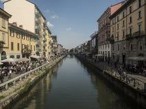Milano en Italia Imágenes de archivo libres de regalías