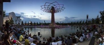 Milano - Expo 2015 Immagini Stock Libere da Diritti