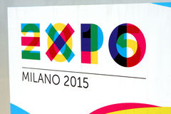 EXPO MILANO 2015 Logo Royalty Free Stock Photos