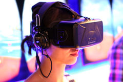 EXPO MILANO 2015 - Virtual reality Stock Photos
