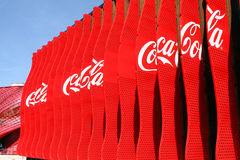 EXPO MILANO 2015 Coca Cola Royalty Free Stock Images