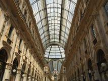 Milano galleria Obraz Stock