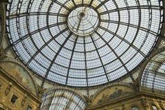 Milano - galleria di Vittorio Emanuele Fotografie Stock
