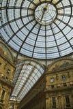 Milano - galleria di Vittorio Emanuele Immagini Stock