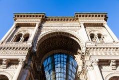 Milano - Galleria Vittorio Emanuele Royalty Free Stock Image