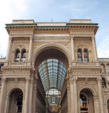 Milano Gallery. Milan, Italy Stock Photo