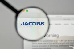 Milano, Italia - 1° novembre 2017: Logo o di Jacobs Engineering Group Immagini Stock