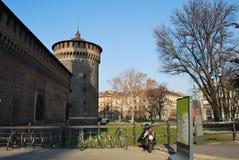 Milano, Italia imagen de archivo libre de regalías