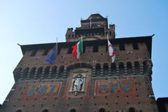 Milano, Italia Fotografía de archivo libre de regalías