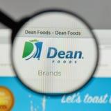 Milano, Italia - 10 agosto 2017: Logo di decano Foods sul sito Web h Fotografia Stock