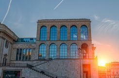 Twentieth Century milano. Milano italia April 14, 2016: Museum of the twentieth century in Milan is a permanent exhibition of works of art from the twentieth Stock Image