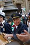 MILANO, ITALIA, della Scala della piazza, il 21 aprile 2012 Immagini Stock Libere da Diritti