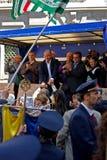 MILANO, ITALIA, della Scala della piazza, il 21 aprile 2012 Fotografie Stock