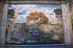 Milano, Italia, Europa, San Maurizio al Monastero Maggiore, chiesa, la cappella di Sistine di Milano, arte, affresco, monastero,  fotografie stock libere da diritti