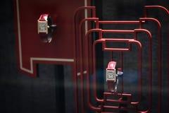 Milano, Italia - 24 settembre 2017: Gli orologi di Cartier in un negozio Immagini Stock Libere da Diritti