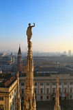 Milano.Italy. Royalty Free Stock Photography