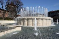 Milano,milan castello sforzesco Stock Images