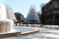 Milano, Milan expogate Obrazy Royalty Free