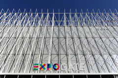 Milano,milan expogate Stock Photos