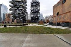 Milano, Milano, Bosco Verticale Fotografie Stock Libere da Diritti