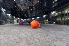 Milano, Milano, una vista dal lombardia di palazzo Fotografie Stock Libere da Diritti