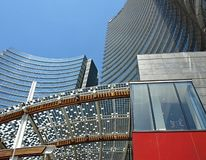 Milano moderna immagini stock