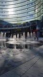 Milano - piazza Aulenti fotografie stock