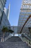 Milano Porta Nuova,Garibaldi rail station Stock Image