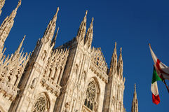 Milano's cathedral Stock Image