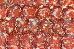 Milano salami Royalty Free Stock Photography