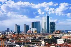 Milano skyline Royalty Free Stock Photo
