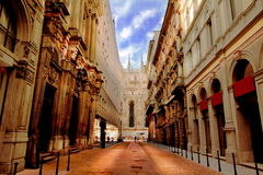 Milano, a Street View Stock Photography