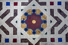 Milano - suelo del galleria de Vittorio Manuel Imagen de archivo libre de regalías