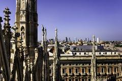Milano view Royalty Free Stock Photos