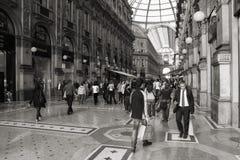 Milano - Vittorio Emanuele II Fotografia Stock Libera da Diritti