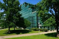 Milano, Włochy, Kwiecień 29 2014: ENI-AGIP korporacyjne kwatery główne San Obrazy Stock