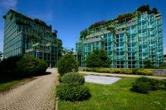 Milano, Włochy, Kwiecień 29 2014: ENI-AGIP korporacyjne kwatery główne San Obraz Royalty Free