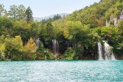 Milanovac瀑布小瀑布  免版税库存照片