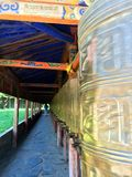 Milarepa-Tempel stockfoto