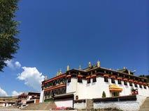 Milarepa-Tempel stockbilder