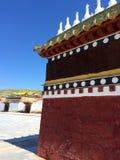 Milarepa tempel royaltyfria bilder