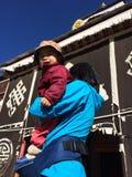Milarepa Temples Royalty Free Stock Image