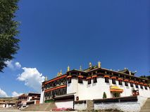 Milarepa Temples Stock Images