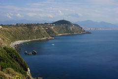 Milazzo: panoramic view Stock Photography