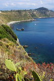 Milazzo: panoramic view Royalty Free Stock Image