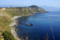 Milazzo: panoramic view Royalty Free Stock Photography