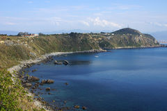 Milazzo: panoramic view Royalty Free Stock Photo