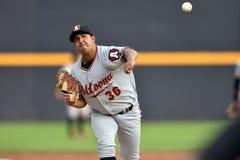 2014年MiLB -棒球投手 免版税库存图片