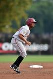 2014年MiLB -棒球跑垒员 库存照片